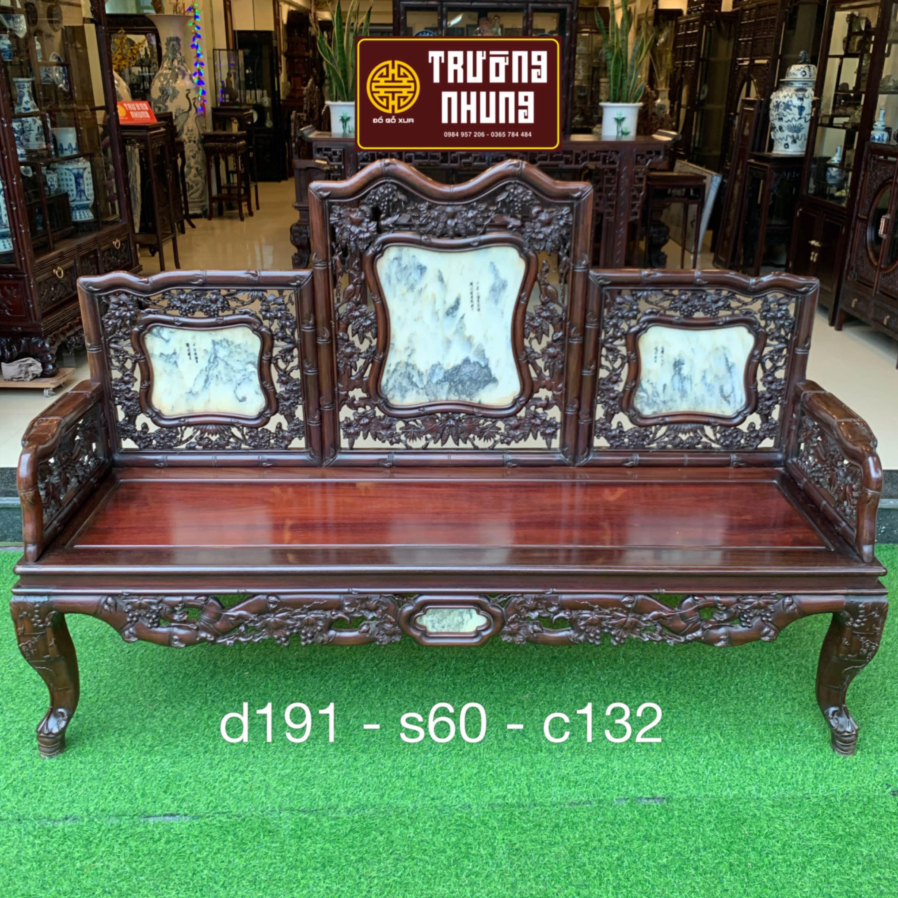 kích - thước - ghế - dài - trường - kỷ - chạm - trúc - nho - đẹp - nhất - ĐỒ - GỖ - XƯA - TRƯỜNG - NHUNG