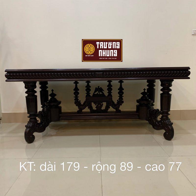 bộ - ghế - ăn - louis - cổ - xưa - bộ - ghế - ăn - bàn - chữ - nhật - lối - pháp - cổ - ghế - ăn - bàn - củ - lá - ĐỒ - GỖ - CỔ - XƯA - TRƯỜNG - NHUNG